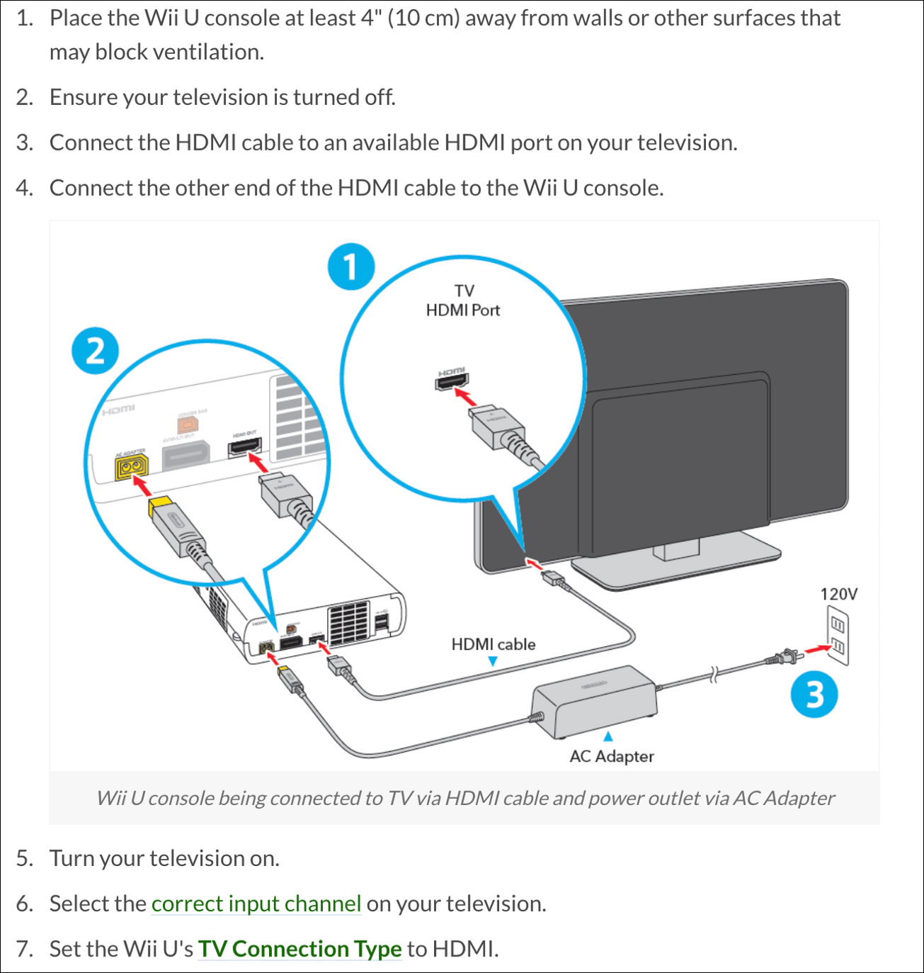 How to connect wii to LG Smart TV