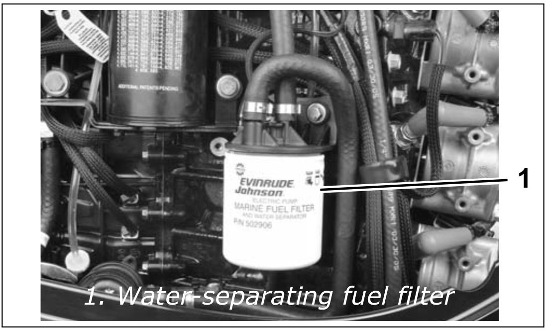 How to Remove Fuel Filter 2011 Evinrude E-TEC 115hpCows Unite