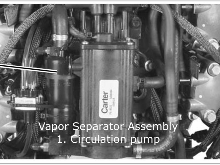 Evinrude E-TEC Vapor Separator