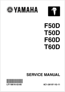 Yamaha F50TLR Service Manual Cover Page
